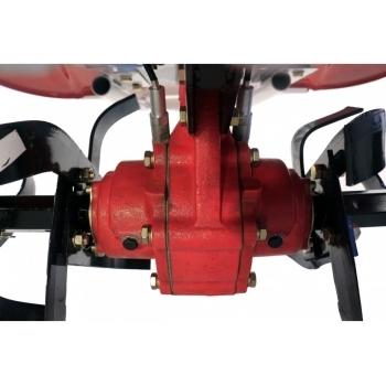 Motocultor PRO SERIES NEW 1350-S cu diferential si roti, motorina, putere 12 Cp, latime de lucru 70-150 cm, pornire automata la cheie, 2 viteze inainte + 1 inapoi #4