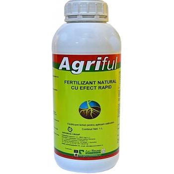 Ingrasamant lichid Bio, cu aplicare prin fertirigare,  Agriful, 1L, AgriTecno