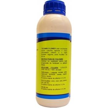Ingrasamant lichid Bio, pentru inflorirea si legarea fructelor, cu aplicare foliara, Tecamin Flower, 1L, AgriTecno #2