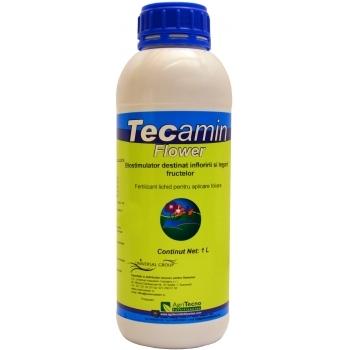 Ingrasamant lichid Bio, pentru inflorirea si legarea fructelor, cu aplicare foliara, Tecamin Flower, 1L, AgriTecno