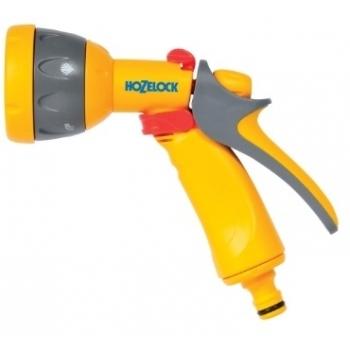 Pistol Hozelock Jet Spray  cu conector Aquastop, 5 tipuri de pulverizare