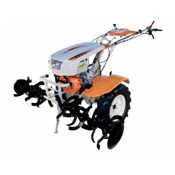 Motosapa O-MAC NEW 1350-S cu diferential + roti, benzina, putere 13 Cp, latime de lucru 50-150 cm, pornire la sfoara, 2 viteze inainte + 1 inapoi #3