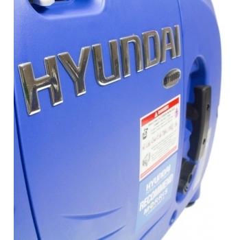 Generator de curent digital/tip inverter monofazat pe benzina  HYUNDAI HY1000Si, 0.9 kW, putere motor 1.8 CP, tensiune 230 V, pornire mecanica #11