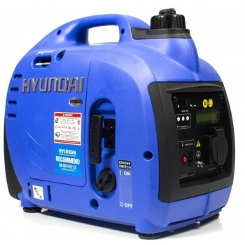 Generator de curent digital/tip inverter monofazat pe benzina  HYUNDAI HY1000Si, 0.9 kW, putere motor 1.8 CP, tensiune 230 V, pornire mecanica #6