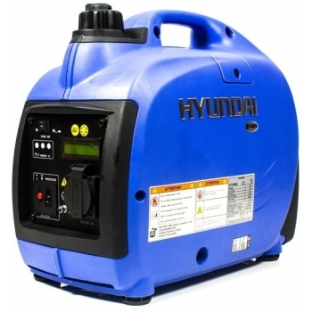 Generator de curent digital/tip inverter monofazat pe benzina  HYUNDAI HY1000Si, 0.9 kW, putere motor 1.8 CP, tensiune 230 V, pornire mecanica