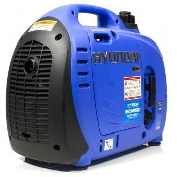 Generator de curent digital/tip inverter monofazat pe benzina  HYUNDAI HY1000Si, 0.9 kW, putere motor 1.8 CP, tensiune 230 V, pornire mecanica #9