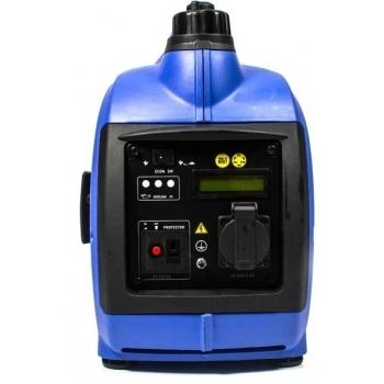 Generator de curent digital/tip inverter monofazat pe benzina  HYUNDAI HY1000Si, 0.9 kW, putere motor 1.8 CP, tensiune 230 V, pornire mecanica #10