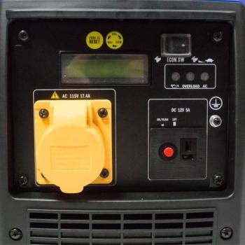 Generator de curent HYUNDAI, HY2000Si, monofazic, putere 2 kW, benzina, putere motor 3.2 Cp, tensiune 230 V, pornire manuala, digital / tip inverter #16