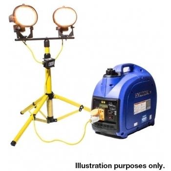 Generator de curent HYUNDAI, HY2000Si, monofazic, putere 2 kW, benzina, putere motor 3.2 Cp, tensiune 230 V, pornire manuala, digital / tip inverter #9
