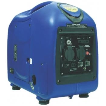 Generator de curent HYUNDAI, HY3000SEi, monofazic, putere 2.8 kW, benzina, putere motor 5.2 Cp, tensiune 230 V, pornire electrica, digital / tip inverter