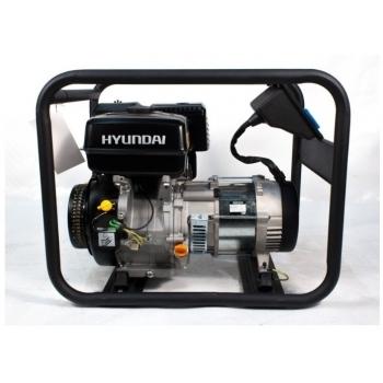 Generator de curent Hyundai, HY6000, monofazic, putere 4.4 kW, benzina, putere motor 11 Cp, tensiune 230 V, pornire manuala, AVR inclus #3