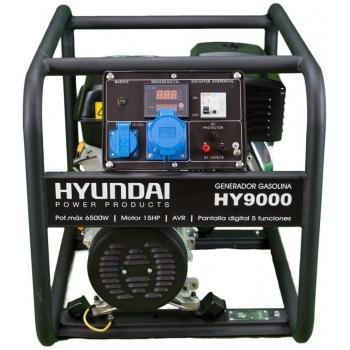 Generator de curent monofazat Hyundai HY9000, 6 kW, putere motor 15 CP, tensiune 230 V, pornire mecanica, avr inclus #2