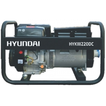 Generator de sudura HYUNDAI, HYKW220DC, monofazic, putere 4.4 kW, benzina, putere motor 15 Cp, tensiune 230 V, pornire manuala