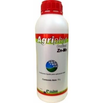 Ingrasamant lichid Bio, cu aport suplimentar de zinc si mangan, cu aplicare foliara,  Agriphyt Contact Zn-Mn, 1 L,  AgriTecno