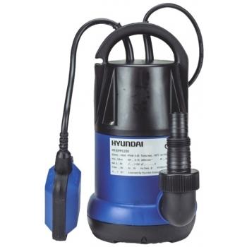 Pompa submersibila Hyundai HY-EPPC250, apa curata, putere motor 250 W,debit maxim 6000 l/h cu plutitor