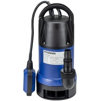 Pompa submersibila Hyundai HYUNDAI HY-EPPT850, apa murdara, putere motor 850 W, debit maxim 13800/h cu plutitor