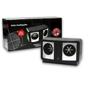 Dispozitiv cu ultrasunete pentru rozatoare Dual Pestrepeller, Pest Stop