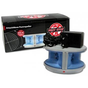 Dispozitiv cu ultrasunete pentru rozatoare Attack Wave Pestrepeller, Pest Stop