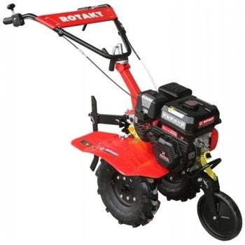 Motosapa Rotakt RO75S cu roti de cauciuc, benzina, putere 7 Cp, latime de lucru 56-83 cm, pornire la sfoara, 2 viteze inainte + 1 inapoi #2