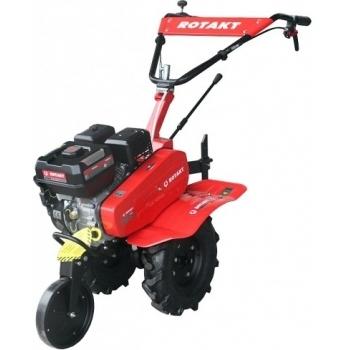 Motosapa Rotakt RO75S cu roti de cauciuc, benzina, putere 7 Cp, latime de lucru 56-83 cm, pornire la sfoara, 2 viteze inainte + 1 inapoi