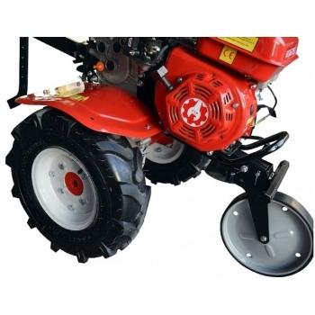 Motosapa Rotakt ROG75 cu roti de cauciuc, benzina, putere 7 Cp, latime de lucru 56-83 cm, pornire la sfoara, 2 viteze inainte + 1 inapoi #5