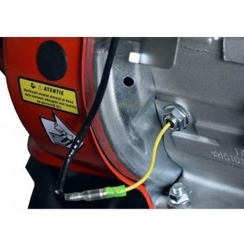 Motosapa Rotakt ROG80 cu roti de cauciuc, benzina, putere 7 Cp, latime de lucru 56-83 cm, pornire la sfoara, 2 viteze inainte + 1 inapoi #12