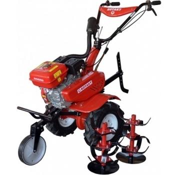 Motosapa Rotakt ROG80 cu roti de cauciuc, benzina, putere 7 Cp, latime de lucru 56-83 cm, pornire la sfoara, 2 viteze inainte + 1 inapoi #5