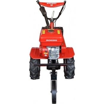 Motosapa Rotakt ROG80 cu roti de cauciuc, benzina, putere 7 Cp, latime de lucru 56-83 cm, pornire la sfoara, 2 viteze inainte + 1 inapoi #2