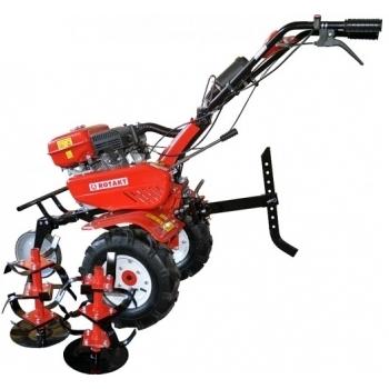 Motosapa Rotakt ROG80 cu roti de cauciuc, benzina, putere 7 Cp, latime de lucru 56-83 cm, pornire la sfoara, 2 viteze inainte + 1 inapoi #6