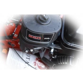 Motosapa Rotakt ROG80BS cu roti de cauciuc, benzina, putere 7 Cp, latime de lucru 56-83 cm, pornire la sfoara, 2 viteze inainte + 1 inapoi #5