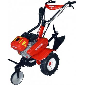 Motosapa Rotakt ROG80BS cu roti de cauciuc, benzina, putere 7 Cp, latime de lucru 56-83 cm, pornire la sfoara, 2 viteze inainte + 1 inapoi