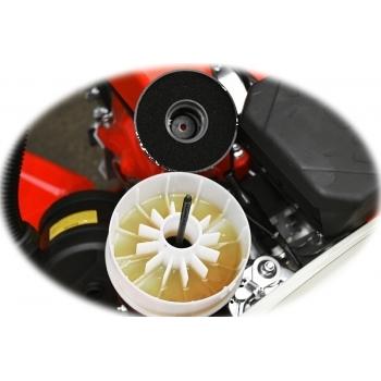 Motosapa Rotakt RO500 cu roti de cauciuc, benzina, putere 7 Cp, latime de lucru 56-86 cm, pornire la sfoara, 2 viteze inainte + 1 inapoi #12