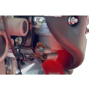 Motosapa Rotakt RO500 cu roti de cauciuc, benzina, putere 7 Cp, latime de lucru 56-86 cm, pornire la sfoara, 2 viteze inainte + 1 inapoi #10