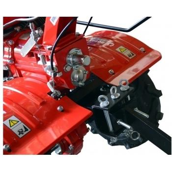Motosapa Rotakt RO100S cu roti de cauciuc, benzina, putere 7 Cp, latime de lucru 56-105 cm, pornire la sfoara, 2 viteze inainte + 1 inapoi #5