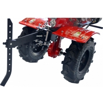 Motosapa Rotakt RO100S cu roti de cauciuc, benzina, putere 7 Cp, latime de lucru 56-105 cm, pornire la sfoara, 2 viteze inainte + 1 inapoi #8