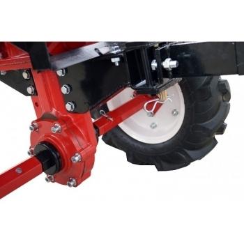 Motosapa Rotakt RO105-7B cu roti de cauciuc, benzina, putere 7 Cp, latime de lucru 56-105 cm, pornire la sfoara, 2 viteze inainte + 1 inapoi #7