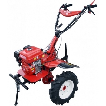 Motosapa Rotakt RO105-7B cu roti de cauciuc, benzina, putere 7 Cp, latime de lucru 56-105 cm, pornire la sfoara, 2 viteze inainte + 1 inapoi