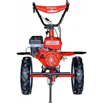 Motosapa Rotakt RO105-9B cu roti de cauciuc, benzina, putere 9 Cp, latime de lucru 56-135 cm, pornire la sfoara, 2 viteze inainte + 1 inapoi #2