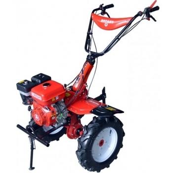 Motosapa Rotakt RO105-13B cu roti de cauciuc, benzina, putere 13 Cp, latime de lucru 56-135 cm, pornire la sfoara, 2 viteze inainte + 1 inapoi