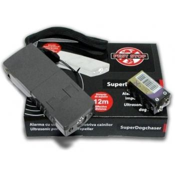 Dispozitiv cu ultrasunete pentru caini si pisici Super Dogchaser, Pest Stop