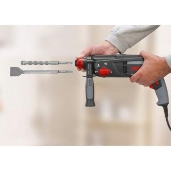 Ciocan rotopercutor Skil 1763 AK, putere 1010 W, 950 RPM, burghie SDS+ #5