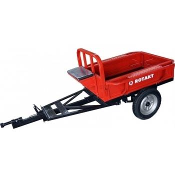 Remorca Rotakt REM400, basculanta, capacitate 400 kg, roti pneumatice