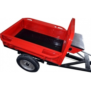 Remorca Rotakt REM400, basculanta, capacitate 400 kg, roti pneumatice #2