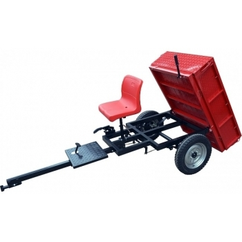 Remorca Rotakt REM450, basculanta, capacitate 450 kg, roti mari pneumatice #2