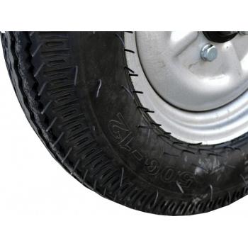 Remorca Rotakt REM500, basculanta, capacitate 500 kg, roti mari pneumatice #5
