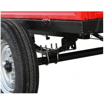 Remorca Rotakt REM500, basculanta, capacitate 500 kg, roti mari pneumatice #4