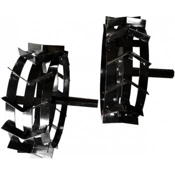 Set roti metalice cu manicot 4.00-8 Rotakt #3