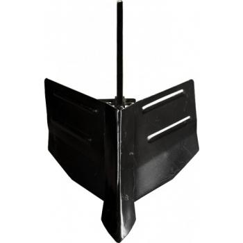 Pachet accesorii plug arat + plug bilonat + roti metalice 4.00-8 (include manicoate) Rotakt #4