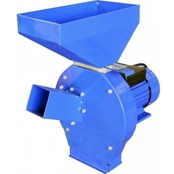 Moara ROMC1500D cu ciocanele Rotakt, monofazic, 2 Cp, 4 ciocanele, 4 site 1.5-5 mm, 240 kg/h