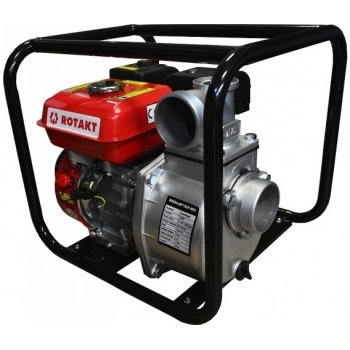 Motopompa Rotakt ROMP3248 3''pentru ape curate, benzina, putere motor 6.5 Cp, debit maxim 800 l/min, pornire manuala #2